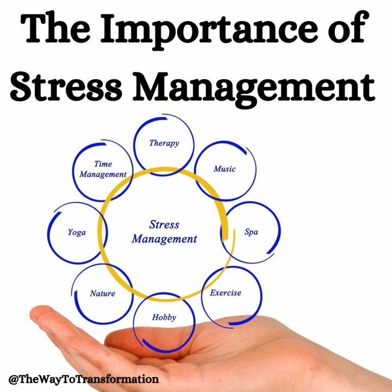 The Importance of Stress Management