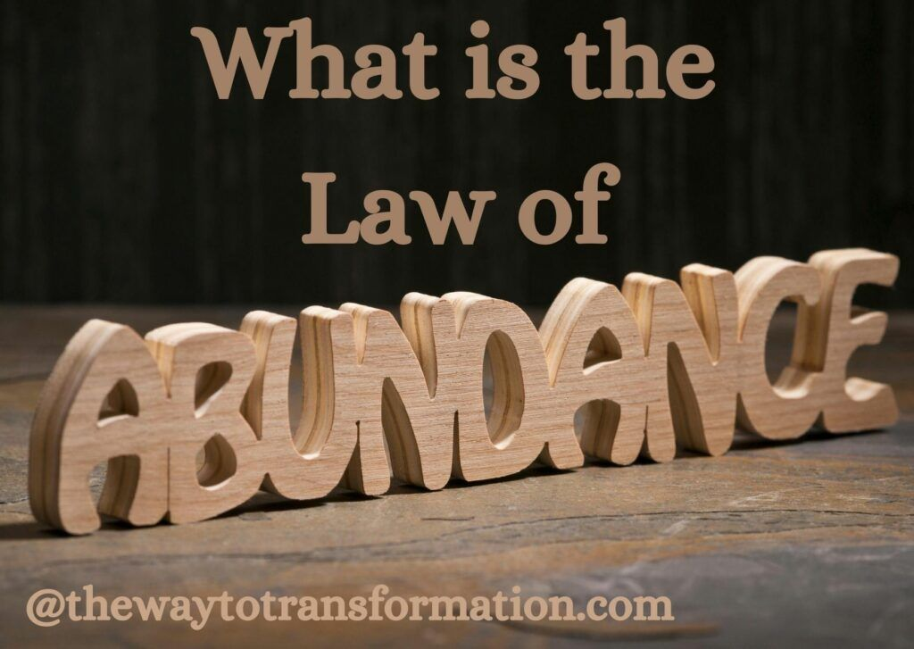 What is the Law of Abundance