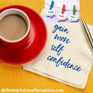 gain more self confidence
