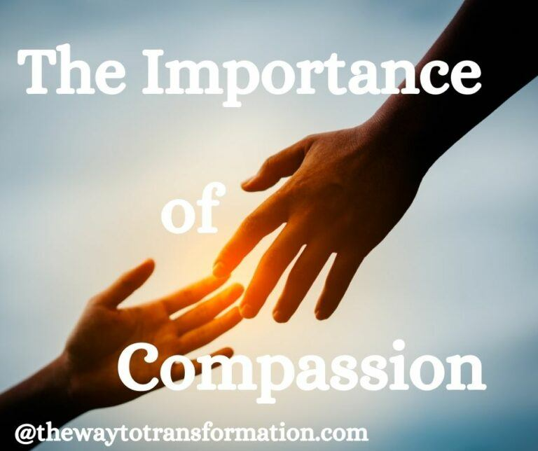 The Importance of Compassion