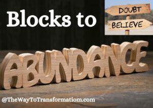 Blocks to Abundance