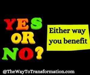 Yes or No. What is The Sedona Method and the 5 Questions