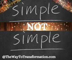 Simple not simple. What is the Law of Resonance and Vibration