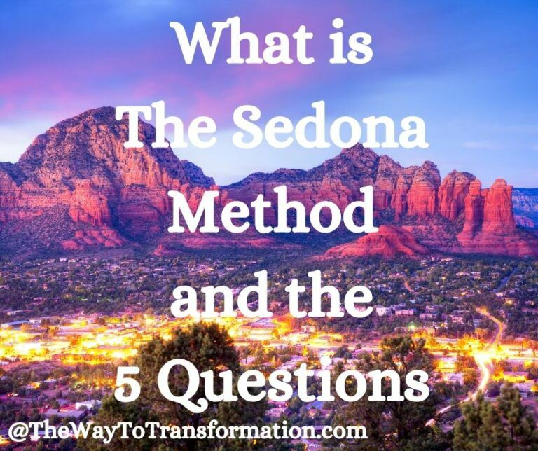 What is the Sedona Method and the 5 questions