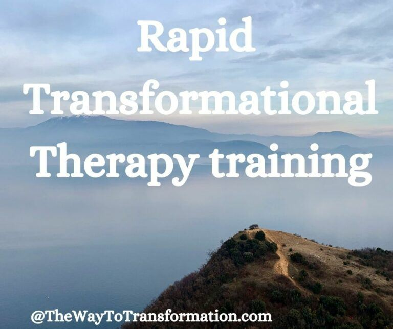 Rapid Transformational Therapy training
