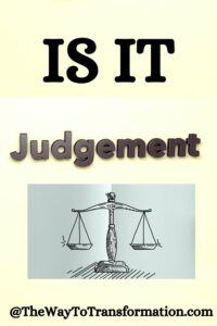 Is it Judgement?